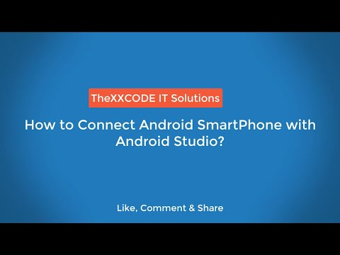 How To Connect Android SmartPhone With Android Studio | Use Mobile As Emulator In Android Studio