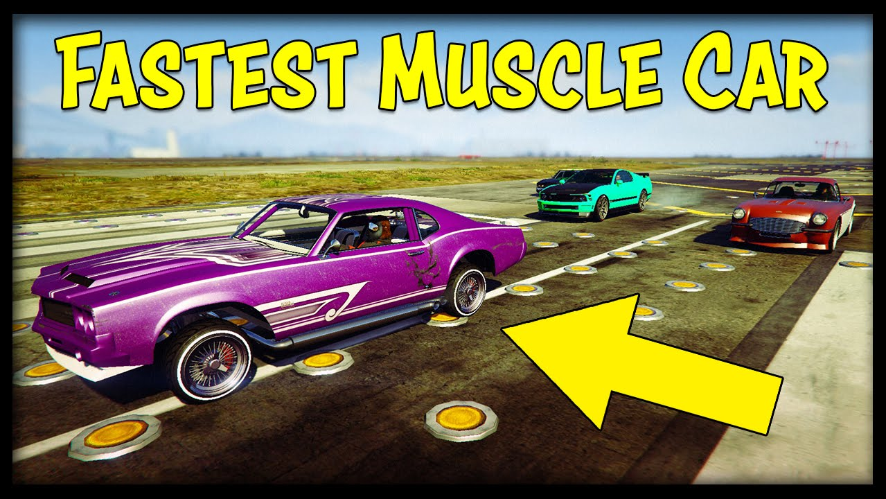 Where To Find The Best Muscle Cars In Gta