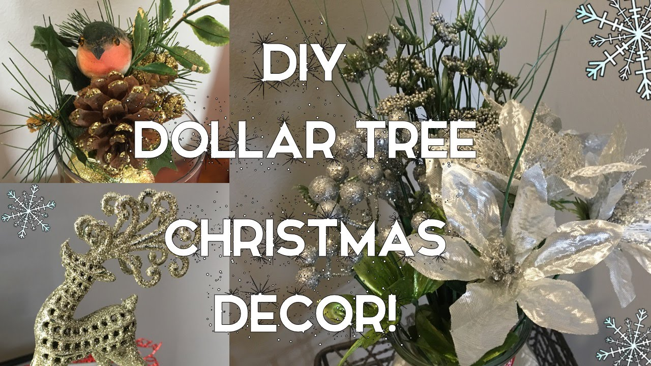 Diy dollar tree christmas decor 7 ideas for the holidays youtube solutioingenieria Choice Image