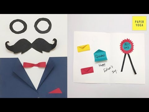 DIY Father's Day Card | How To Make Greeting Card | Suit-Tuxedo Greeting Card