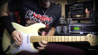 Melodic Bm Metal guitar solo improvisation - Neo