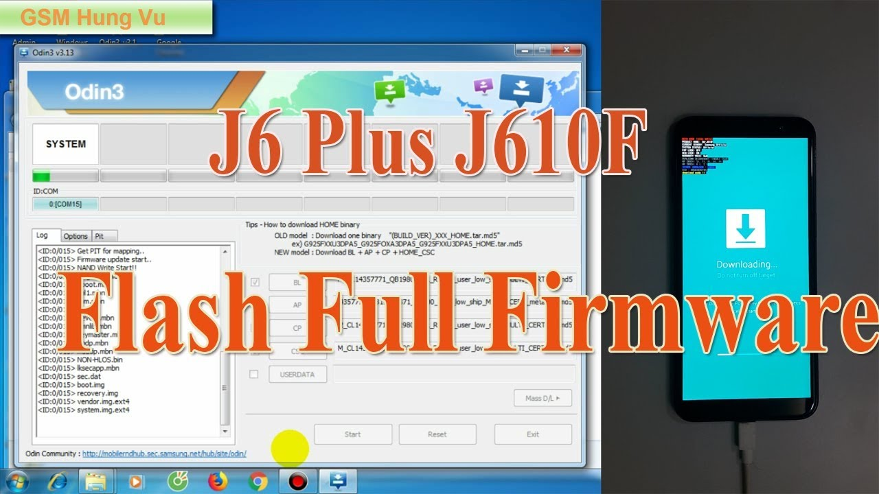 Samsung J610F Firmnware File Android OREO 8 1 - Gsm Hung Vu