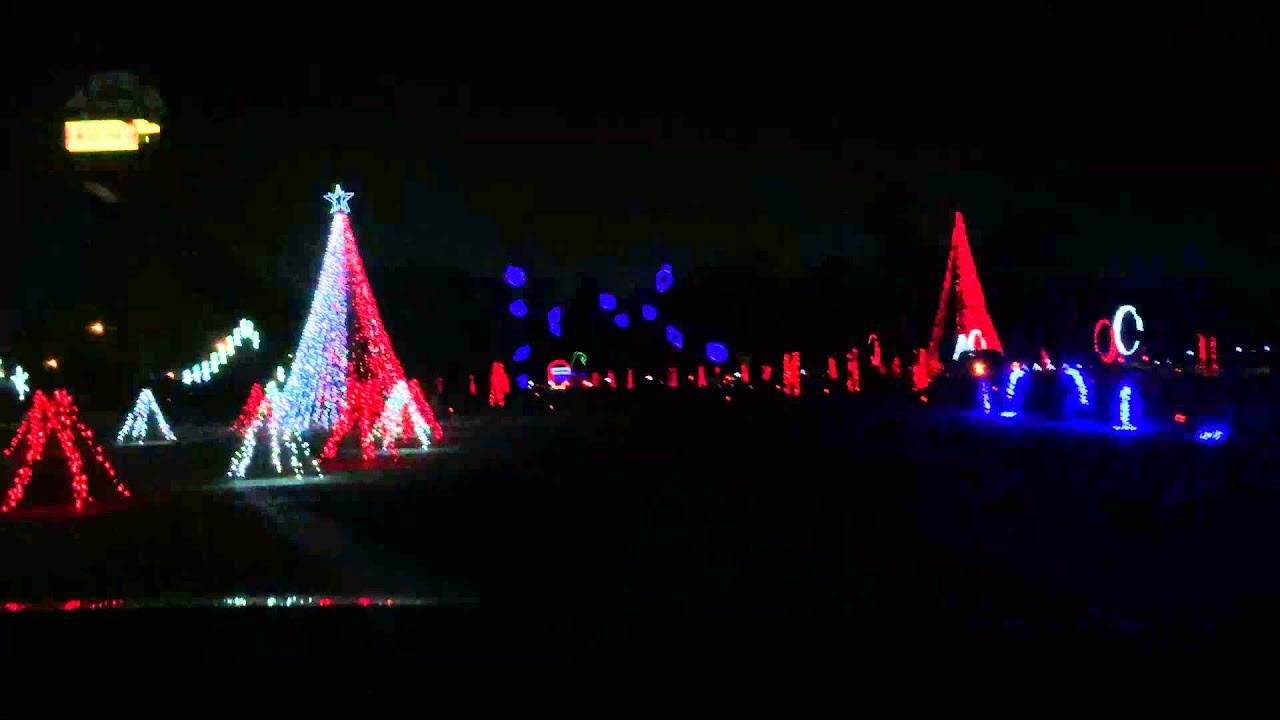 mobile al christmas light show 1 youtube