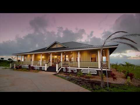 Custom Built Plantation Home in Kula, Hawaii