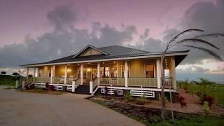 Custom Built Plantation Home in Kula, Hawaii
