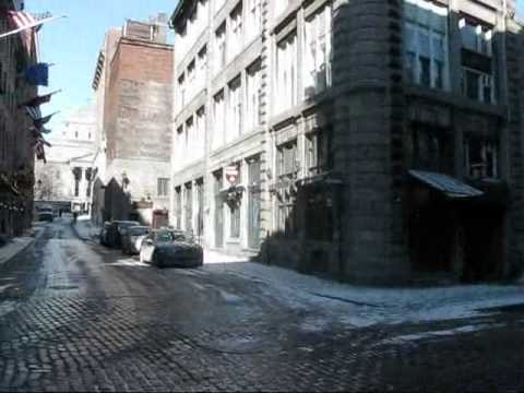 Montreal Travel -- A Walk through Old Montreal