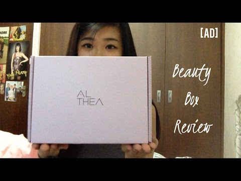 Althea Korea Beauty Box Review