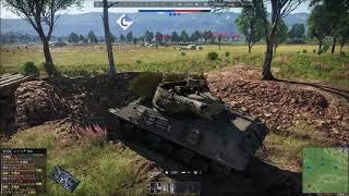 War Thunder game replay ~M36 対戦車自走砲~