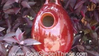 Garden Decor Super Sale - Ceramic Bird Houses