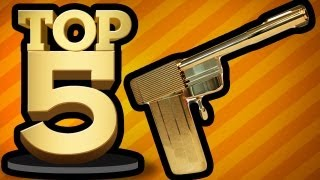 BEST VIDEO GAME WEAPONS (Top 5 Friday)