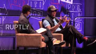 USA: Rodman talks Trump, North Korea at Politicon in LA