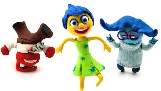 Inside Out Break Dance Stop Motion Disney Pixar Animation with Play Doh