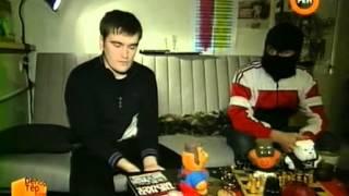 """Война между антифа и нацистами"" Репортерские истории на Ren TV (20.04.08)"