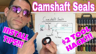 Subaru DiY | Camshaft Seals | How They Work, Installation Steps, and $2 Tool HACK!