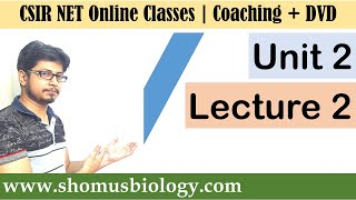 CSIR NET life science lectures - Unit 2 Lecture 2 (Cell Biology lecture)