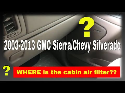 How to replace the cabin air filter in a 2003 GMC Sierra – Force TV 051