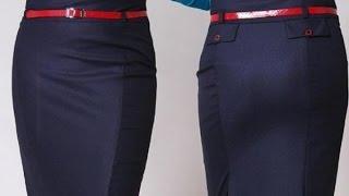 Построение выкройки прямой юбки. Метод Любакс