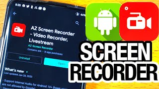 BEST Screen Recorder For Android Without Watermark! Screen Record Android 10 NO Root! (2020)