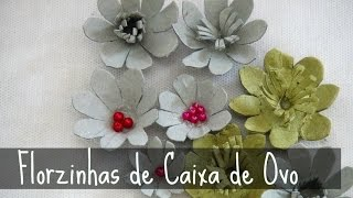 Florzinhas de Caixa de Ovo