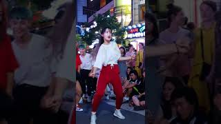 2018.8.12&걷고싶은거리&홍대&공차앞&버스킹&여성댄스팀&Diana(희정)&by큰별