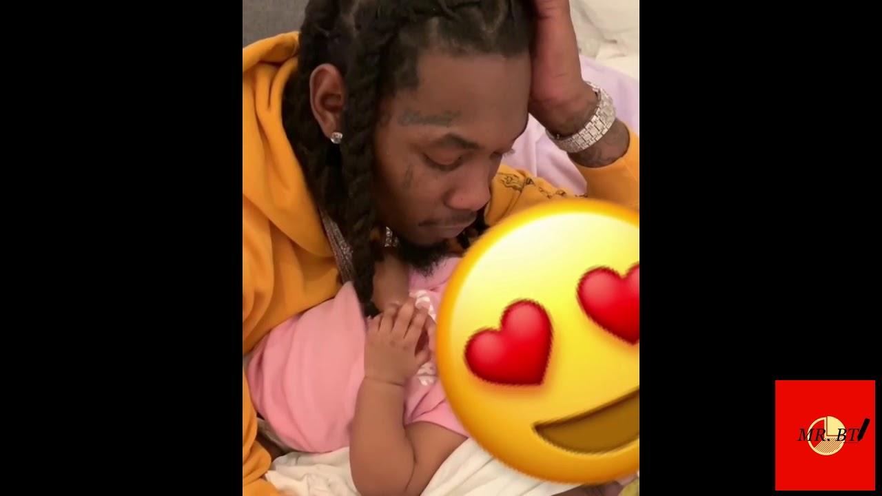 Cardi B graba a su hija cuando dice mama por primera vez