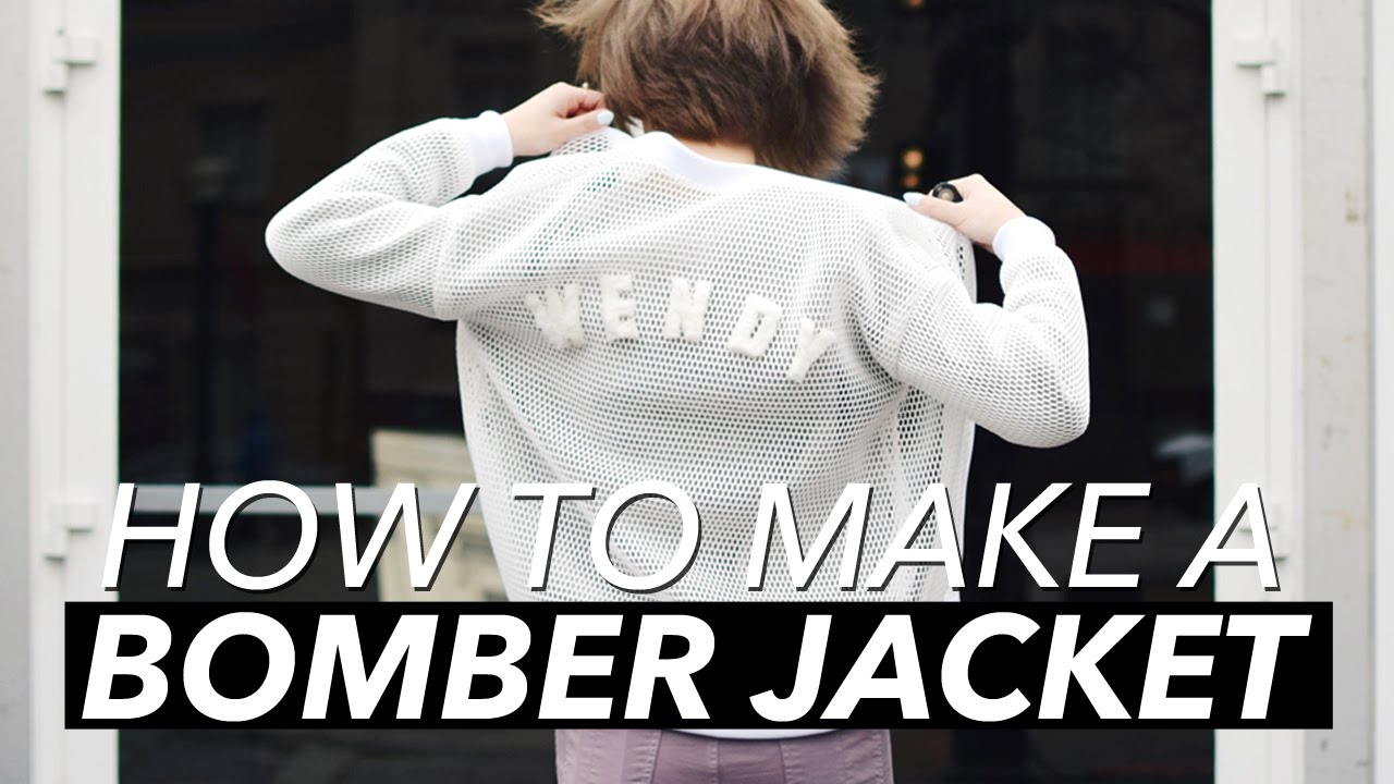 How to Make a Bomber Jacket | WITHWENDY - YouTube