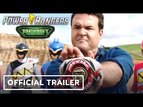 Power Rangers Beast Morphers - Official Trailer (Austin St. John, Red MMPR Ranger)