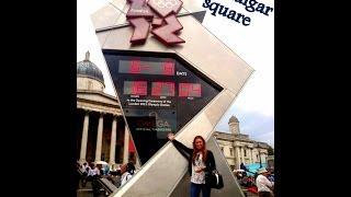 Londres,Trafalgar Square su historia