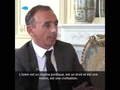 """Eric Zemmour : """"L'Islam Est Incompatible Avec La Laïcité"""""""