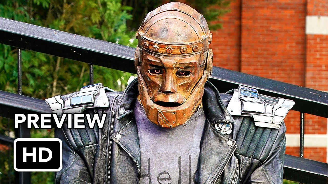 "Doom Patrol ""Robotman"" Featurette (HD) DC Universe Superhero series"