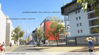 Annecy Pont-Neuf: aménagements 2015