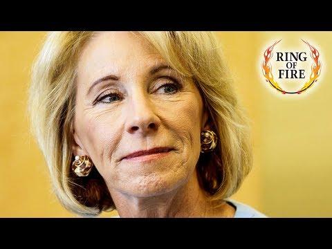 Donald Trump & Betsy DeVos Hate Public Education, But Love Public Money!