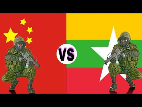 China VS Myanmar military power comparison 2018