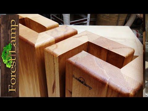 Кровать своими руками из дерева (бруски и мебельный щит) |Как сделать Мебель своими руками .