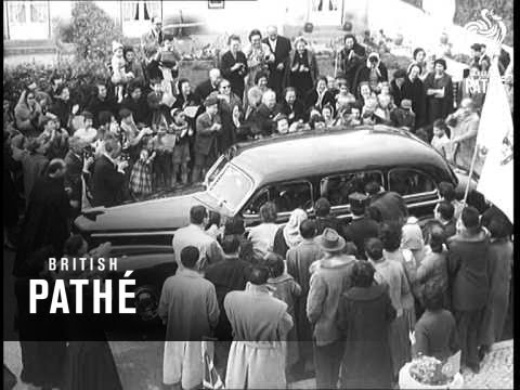 Portugal - Queen's Visit (1957)