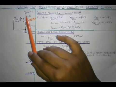 Electronics Project: Electronics Alarm circuit using PNP transistor