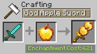 Minecraft UHC but you can craft with EVERY ITEM you want...