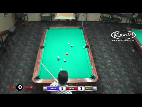 PT 4 - One-Pocket Saturday - March - Jenny Lee vs Rafael