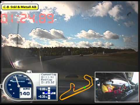 Micael Ljungström: Mantorp Park, Aston Martin racing GT