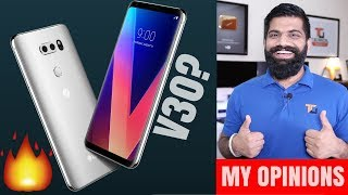 LG V30 - Best Audio and Camera? My Opinions...
