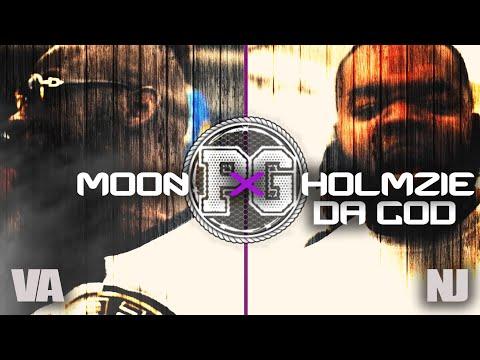 MOON VS HOLMZIE DA GOD SMACK/ URL RAP BATTLE