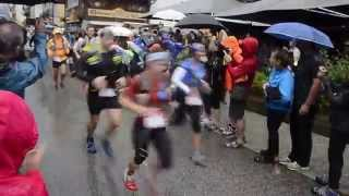 2014 Ultra Trail Du Mont-Blanc start, 2014 UTMB Start