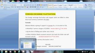 Foreign Exchange Fluctuation, Foreign Exchange fluctuation entries in tally
