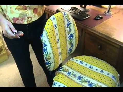 DIY Easy Way To Cover Office Chairs   Joni Hilton