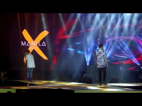 Sam Concepcion, Bret Jackson and James Reid in Manila X 2017