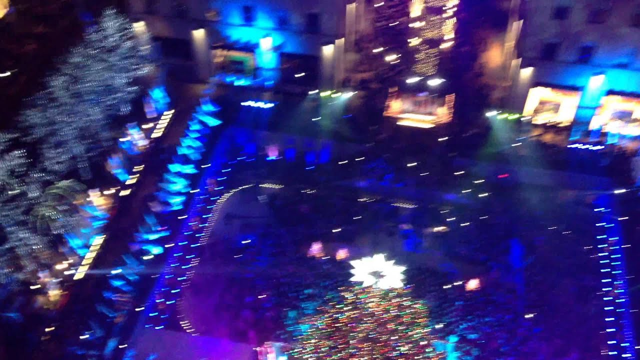 Rockefeller Center Christmas Tree Lighting From Inside