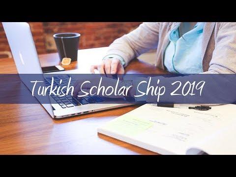 Turkish Secondary Scholar Ship 2019 | Fursad ay Ardayda Iskoolada Sare Waxbarasho Free ah....