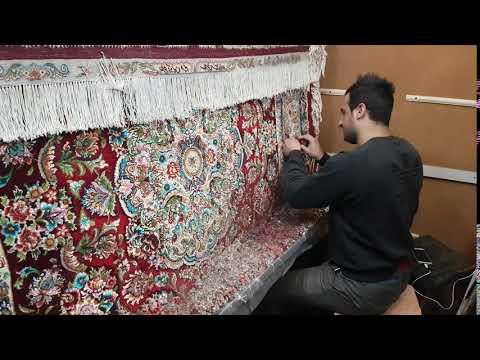 Atelier de fabrication de tapis à Tabriz