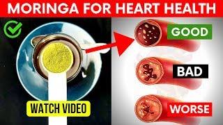What Happens to your Clogged Arteries When You take 1 Teaspoon of Moringa Powder.