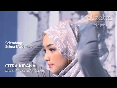Hijab Tutorial Simple   Citra Kirana   elzattahijab 1